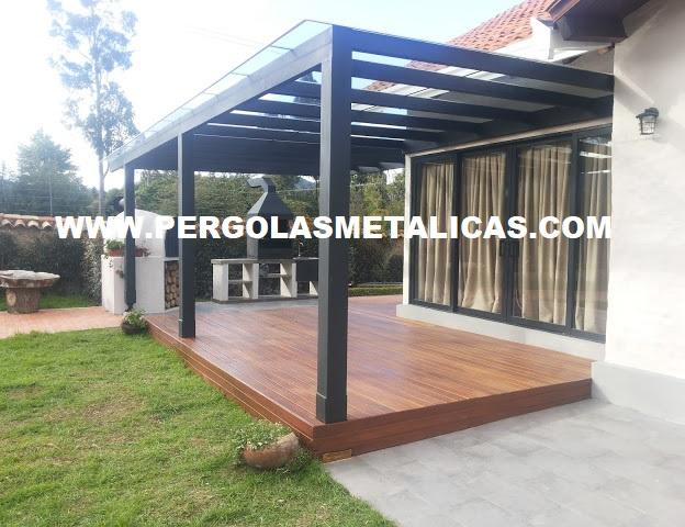 pergolas metalicas colombia bogota - Pergola Metalica